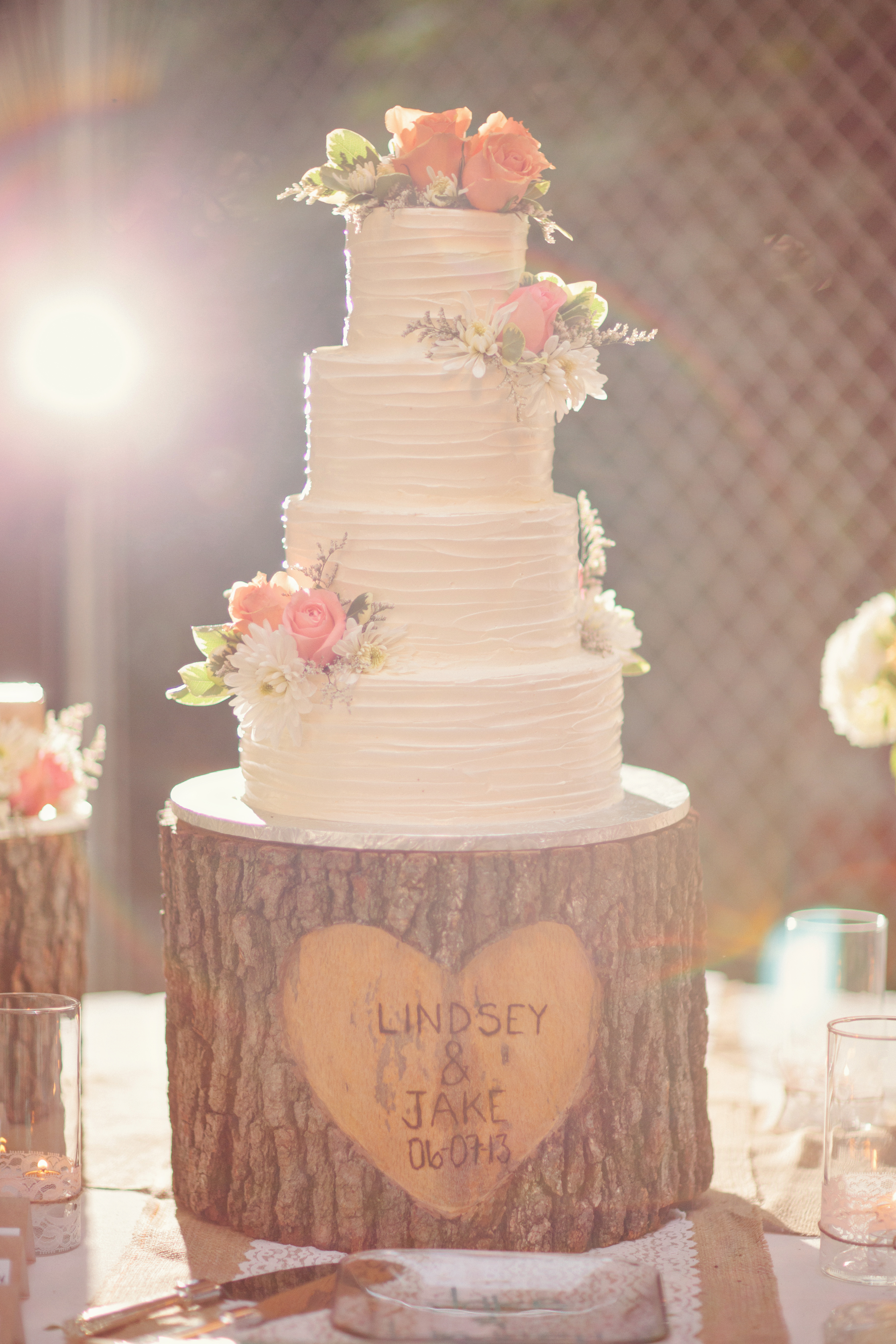 Rustic cake stands Rustic cake and Cake stands on Pinterest