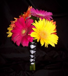 Bridemaid's Bouquet with Gerbera Daisies