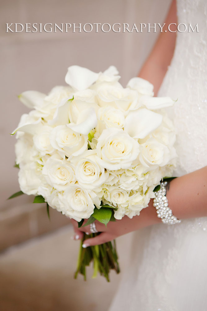 Lush White Bridal Bouquet