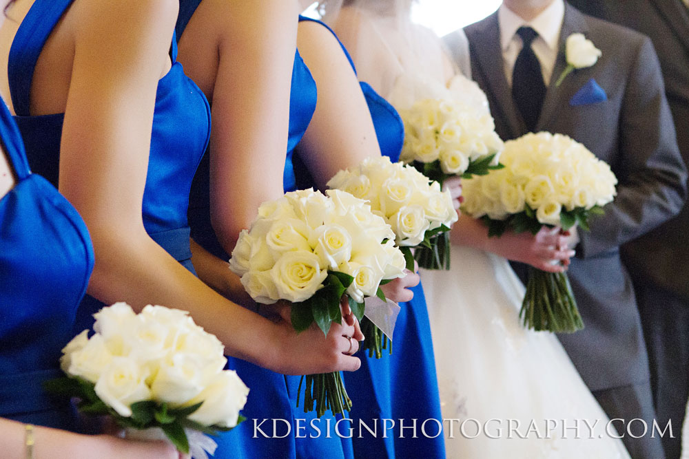 White Rose Bridal Party