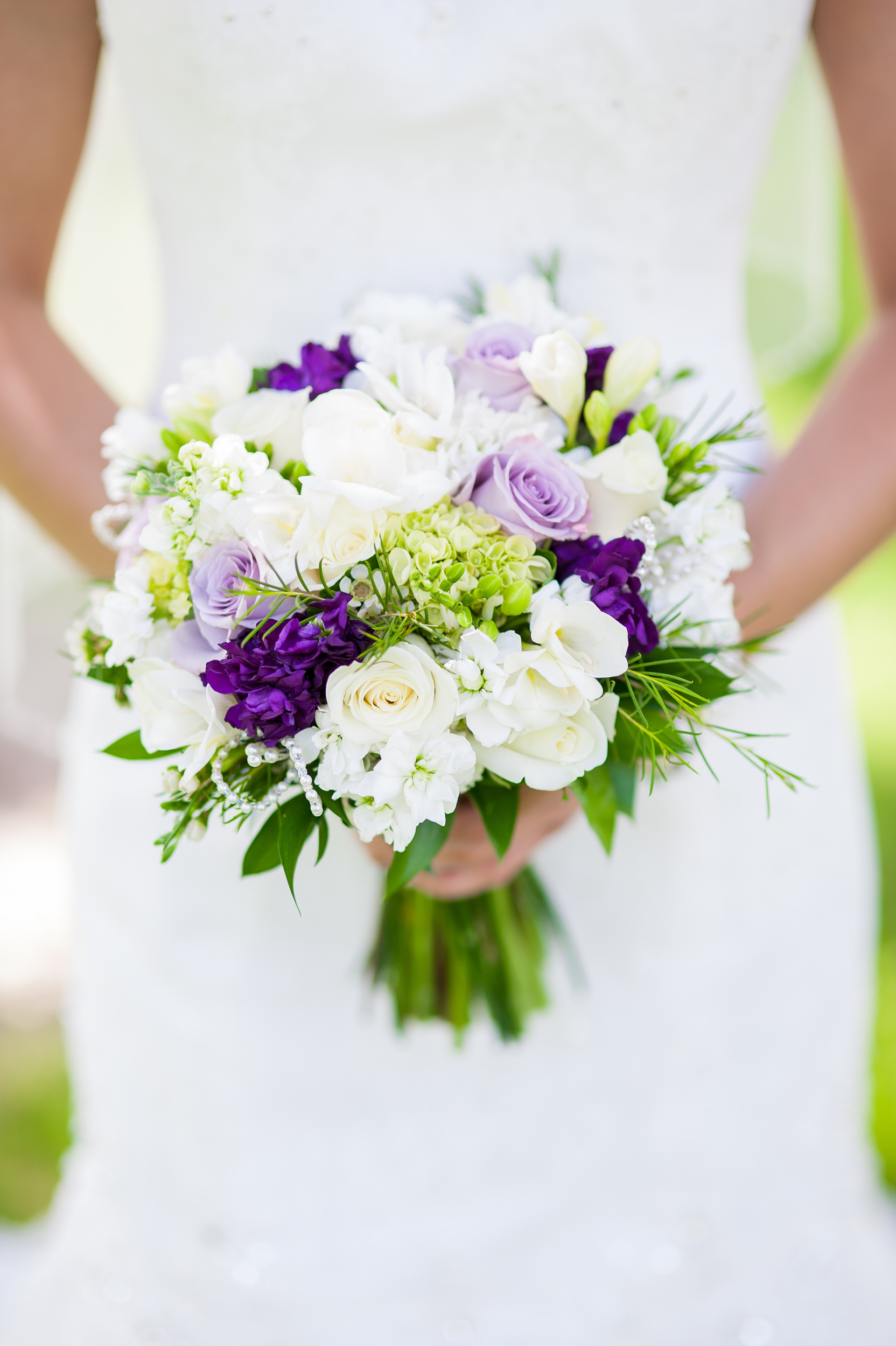 Champaign Wedding Florist Purple Passionsblossom Basket Blog