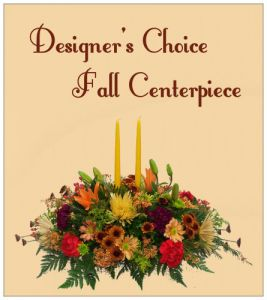 Designer's Choice Fall Centerpiece