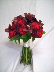 Real Red Wedding Bouquets