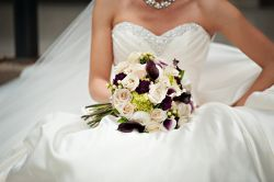 Real Wedding Flowers Designed by Blossom Basket Florist