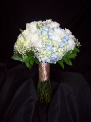 Real Bridal Bouquet by Blossom Basket