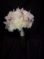 Real Wedding Flowers by Blossom Basket