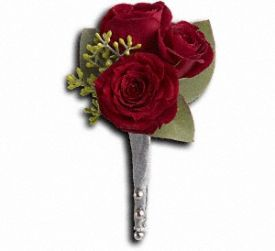 Kings Red Rose Boutonniere