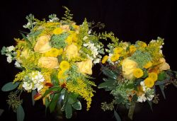 Yellow Garden Style Romantic Bridal Bouquets